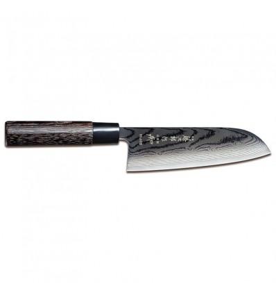 Tojiro Shippu Black damascus santoku 17 cm