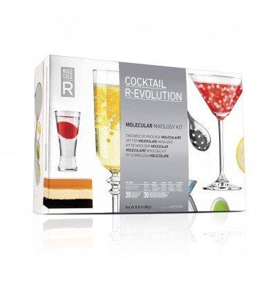 Cocktail Κιτ μοριακής γαστρονομίας R-Evolution