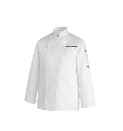 Shirts chef's White embroider your name