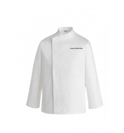 Shirts chef's White Ego Chef PRESTIGE embroider your name