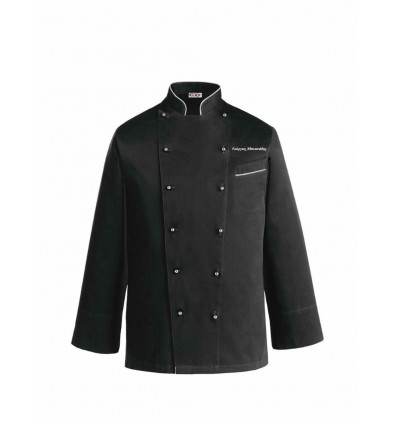 Μπλούζα Chef Λευκή Ego Chef PRESTIGE με κέντημα το όνομα σας
