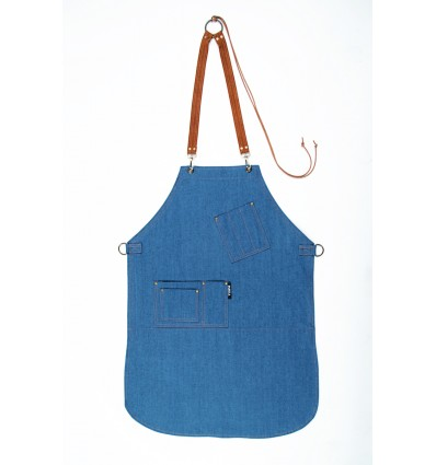 Chef's apron Light Blue