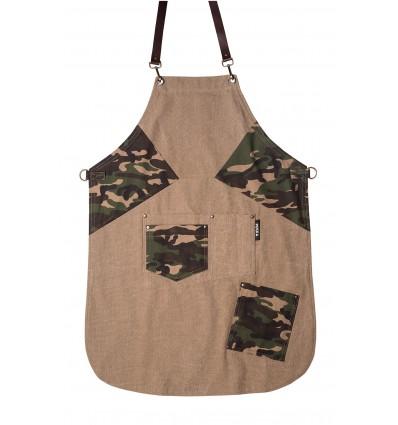 Ποδιά Μάγειρα Chef Prismi Military Plus